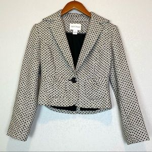 White House Black Market Wool Blend Blazer Sz 2